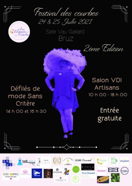Affiche FESTIVAL des Courbes 2ème Edition